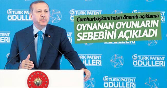 Oyunların nedeni büyüyen Türkiye