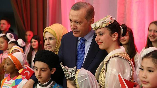 Erdoğan 23 Nisan'da 200 çocuğu Cumhurbaşkanlığı Külliyesi'nde ağırlayacak