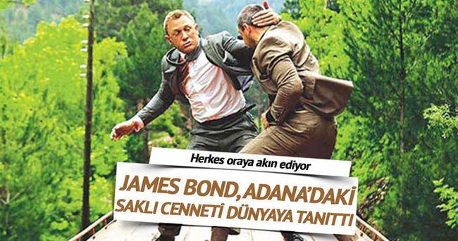 James Bond Adana'daki saklı cenneti dünyaya tanıttı