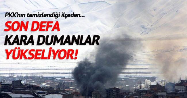 Yüksekova'da EYP'ler imha ediliyor