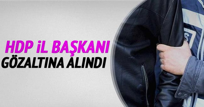 HDP Şanlıurfa İl Eş Başkanı gözaltına alındı!
