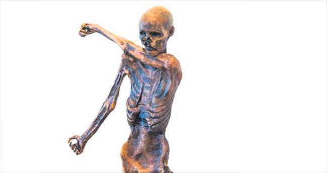 Ötzi'nin üç boyutlu kopyası