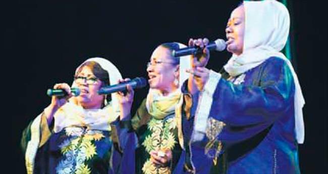 Sudanlı kardeşler 45 yıldır sahnede