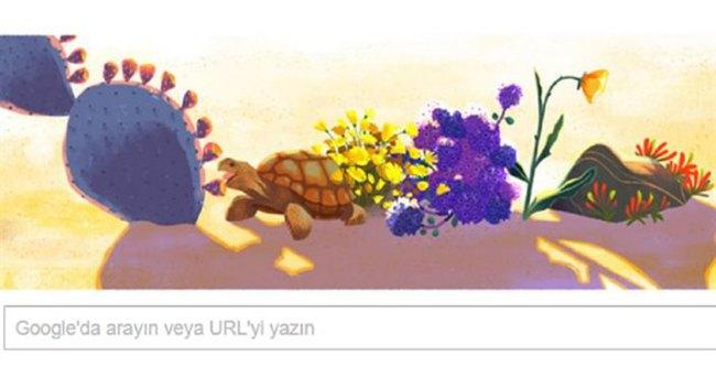 Dünya günü nedir? Google'dan Dünya gününe doodle