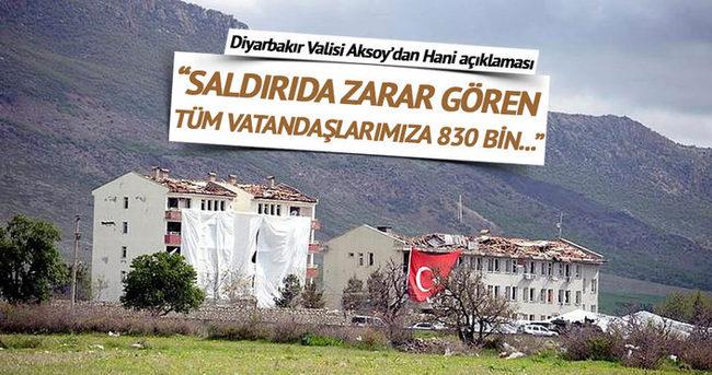 Diyarbakır Valisi'nden Hani açıklaması