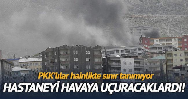 Şırnak'ta 112 komuta kontrol merkezine bomba