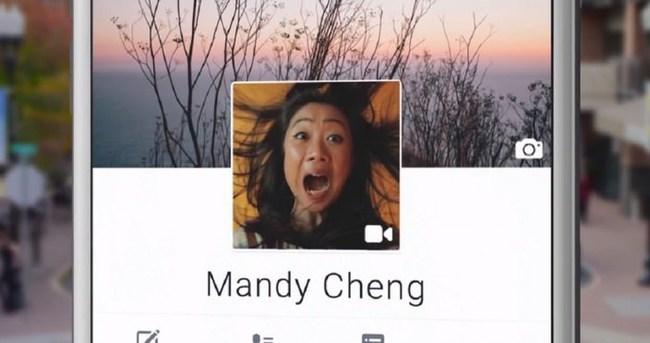 Facebook profil fotonuz yerine video ekleyebilirsiniz