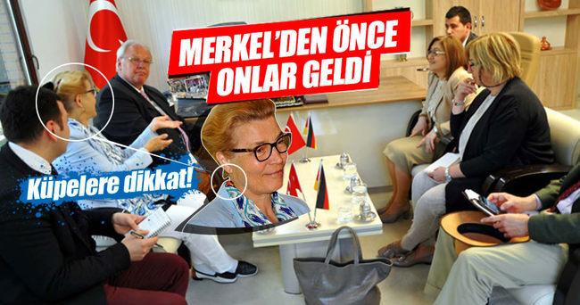 Gaziantep'e, Merkel'den önce Almanya Büyükelçisi Erdmann geldi