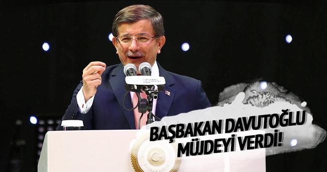 Başbakan Davutoğlu : 1 milyonluk kütüphaneler geliyor