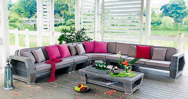 Bahçe mobilyalarında Vitello fark yaratıyor