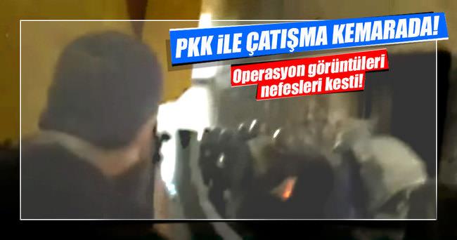 Şırnak'taki çatışma kameralara yansıdı