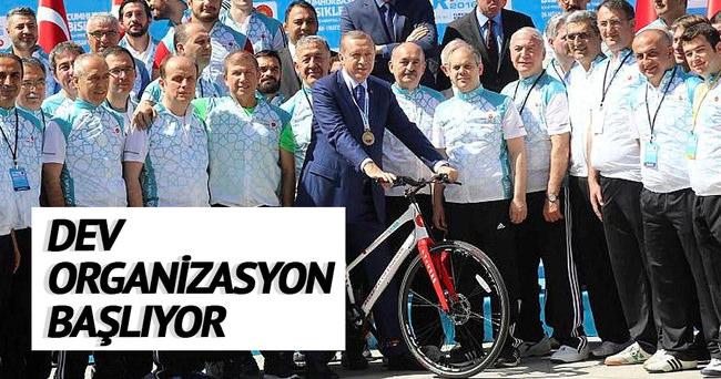 52. Cumhurbaşkanlığı bisiklet turu bugün başlıyor