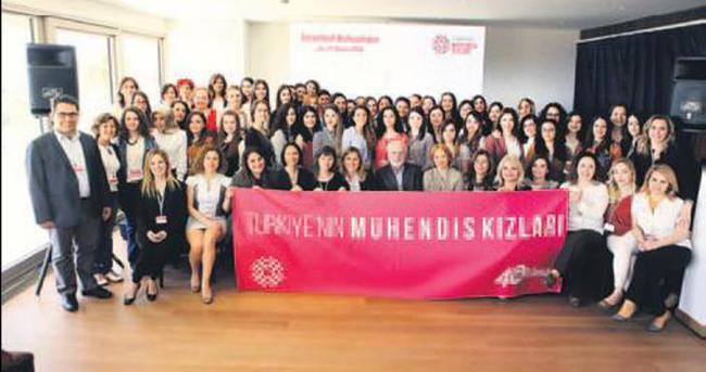 Limak'ın mühendis kızları İstanbul'da buluştu