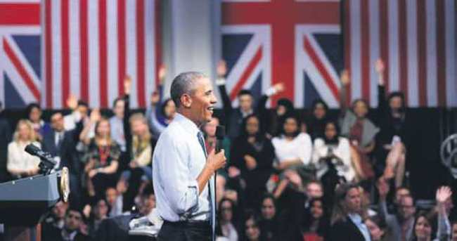 Obama'dan gençlere: Karamsarlığı reddedin