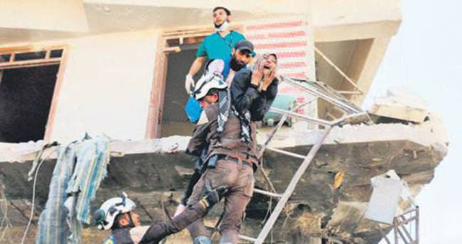 Suriye ve Rusya yine sivilleri vurdu