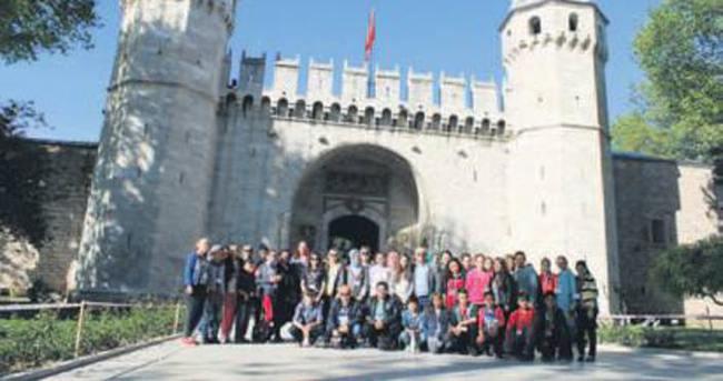 Ünyeli çocukların İstanbul sevinci