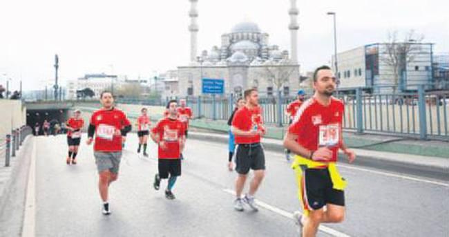 İstanbul'da 7 bin sporcu koşacak