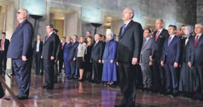 HDP törenlerde yoktu