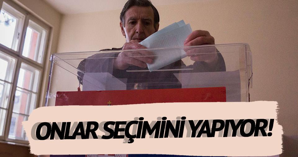Sırbistan'da milletvekili seçimleri