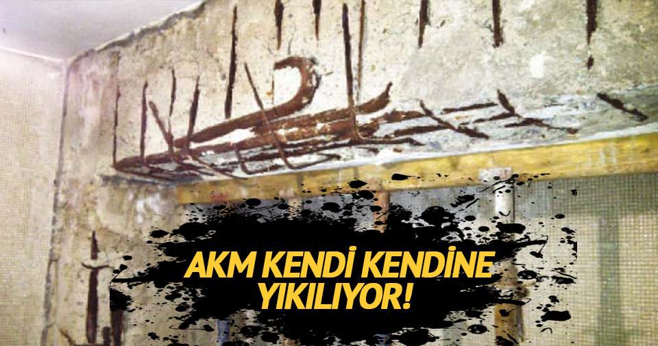 AKM'nin yıkılmaktan başka çaresi yok