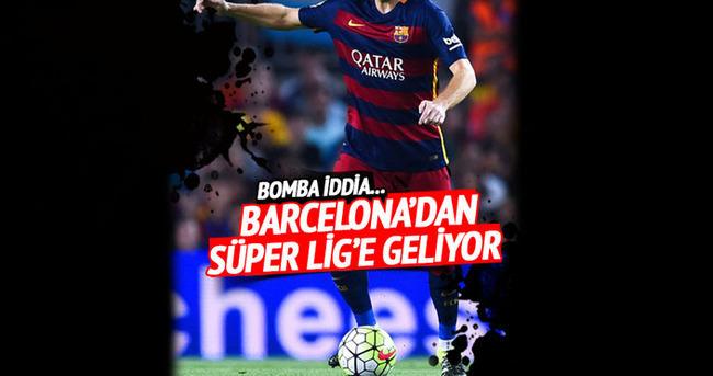 Barcelona'dan Süper Lig'e geliyor