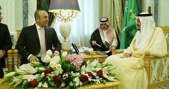Çavuşoğlu, Suudi Arabistanlı mevkidaşı Cubeyr ile görüştü