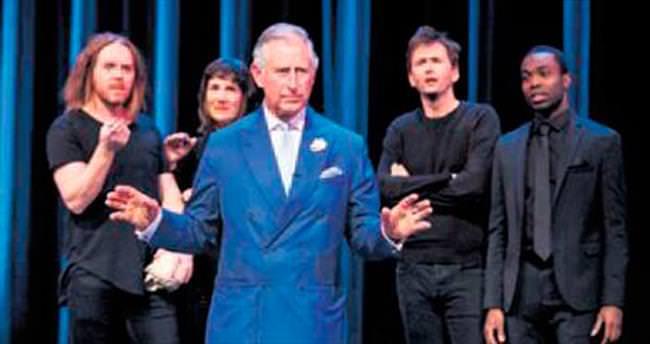 Hamlet'i bir de Prens Charles'tan izleyin!