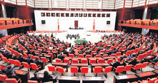 Meclis'in gündemi dokunulmazlık