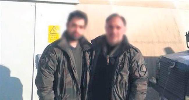 Baba oğul birlikte terörist peşinde