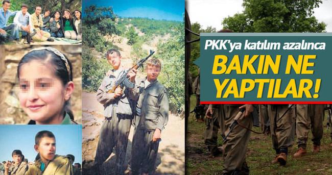 PKK, Suriye'de çocuk kaçırmaya başladı
