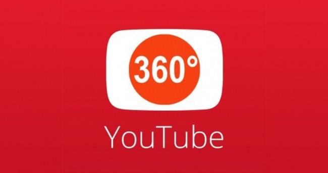 Youtube 360 derece canlı yayın özelliği