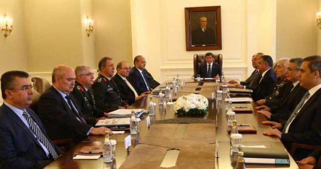 Ankara'da güvenlik toplantısı