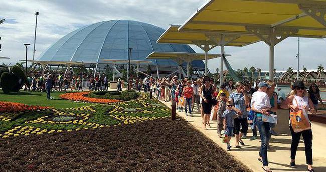 EXPO 2016 Antalya, 2 günde 70 bin ziyaretçiye ulaştı