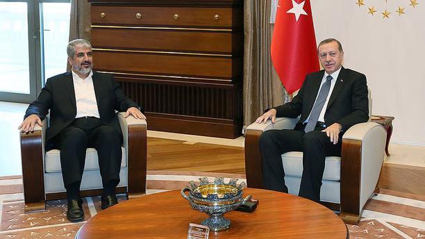 Cumhurbaşkanı Erdoğan, Halid Meşal ile görüştü