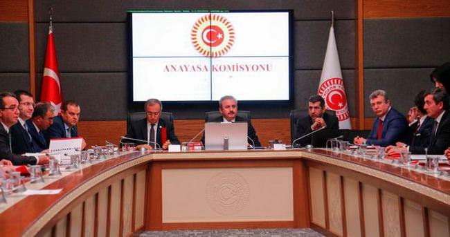 Anayasa Komisyonu dokunulmazlıkları perşembe günü görüşecek