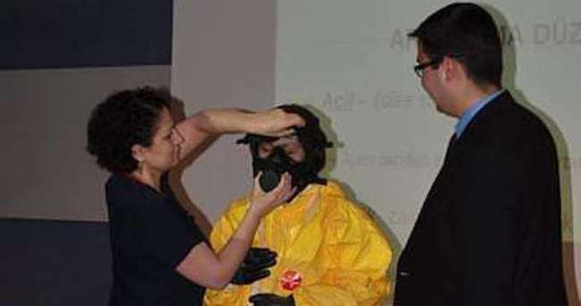 Sağlık çalışanlarına 'KBRN' eğitimi