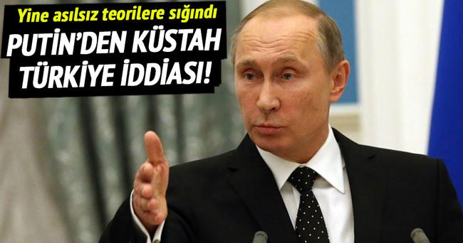 Putin'den Türkiye'ye karşı küstah iddia