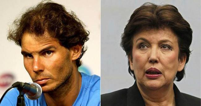 Nadal'dan eski Fransız Bakan'a dava