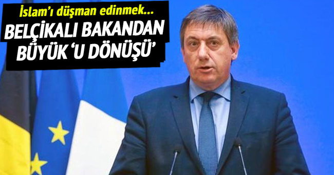 Belçikalı bakandan geri adım!