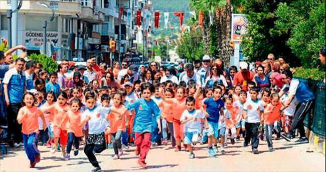 Kumluca'da festival koşusu