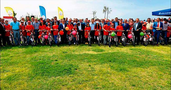 Bisikletler devletten