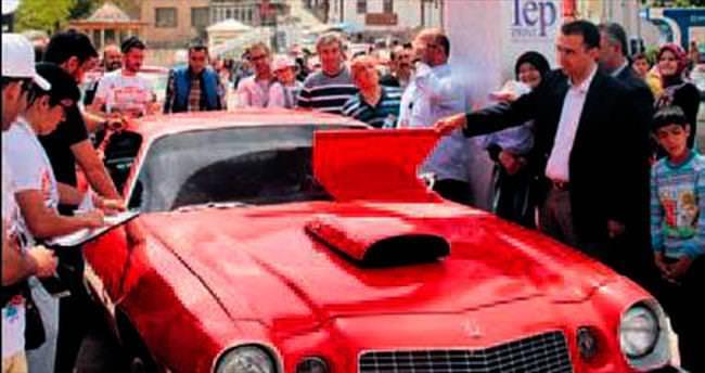 Klasik otomobiller Ayaş'ta buluştu