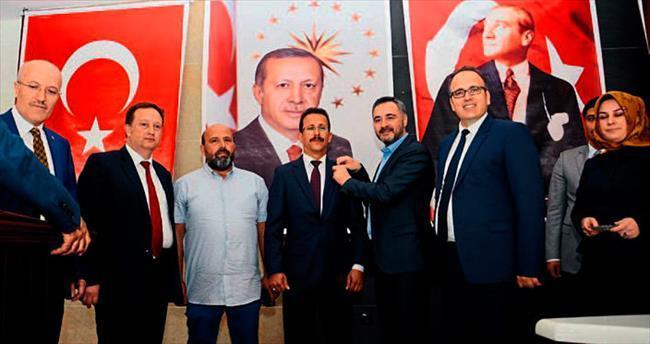Balıkesir'de MHP'den AK Parti'ye geçtiler