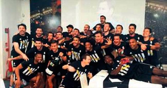 Juve idman yaparken şampiyonluğa ulaştı