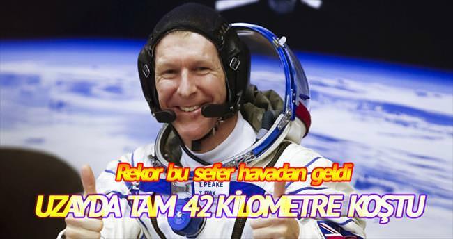 Uzayda maraton rekoru