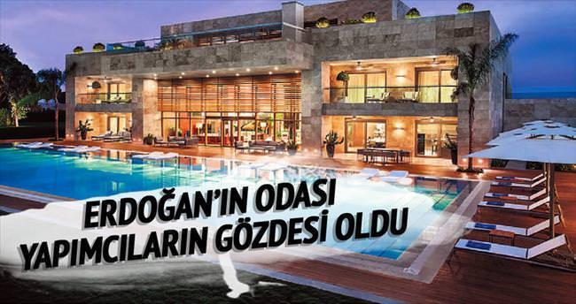 Erdoğan'ın odası dizi seti oldu