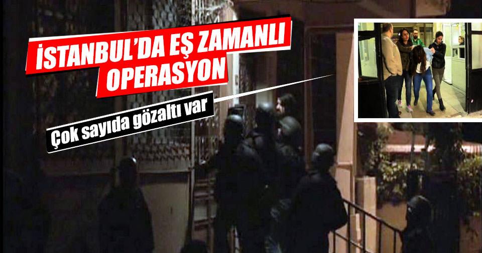 İstanbul'da eşzamanlı terör operasyonları