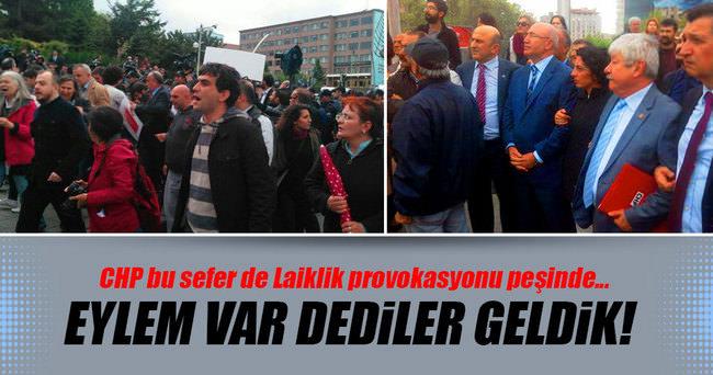 Ankara'da laiklik provokasyonu!