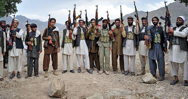 Afganistan'da 18 Taliban militanı öldürüldü