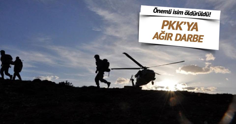 PKK'ya ağır darbe: Önemli isim öldürüldü!